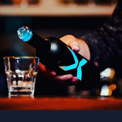 X Vodka LED Austria Calidad Premium 0.7L