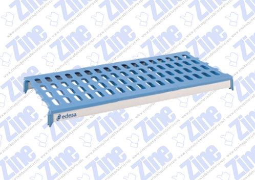 Estantes de aluminio y polietileno medidas 1200 x 500