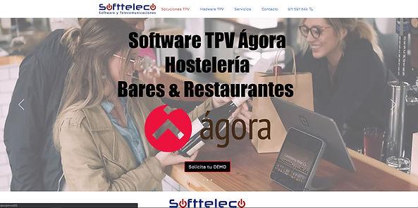 Diseño página web Empresa de servicio tp
