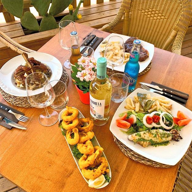 Restaurante comida mediterranea