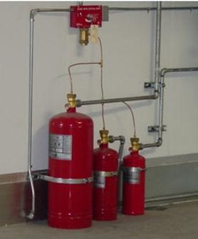 Sistemas contraincendios polvos químicos