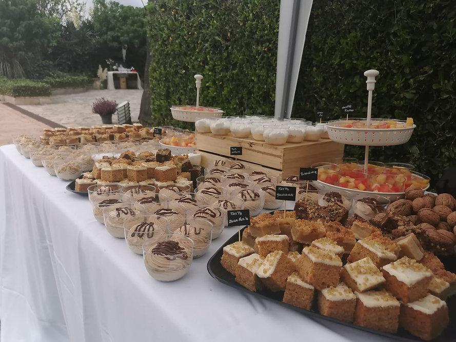 Especial bodas en Mallorca catering