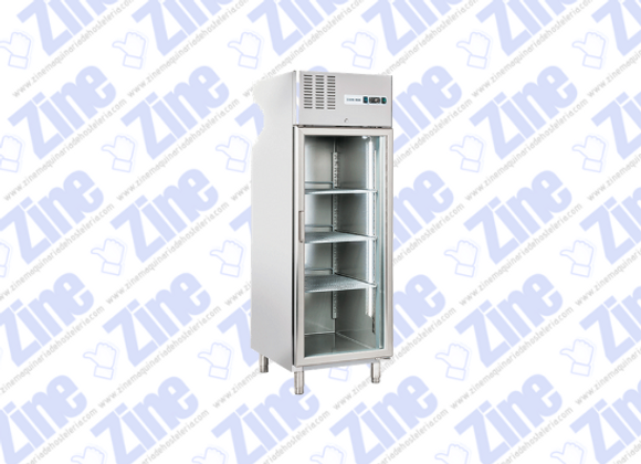 ARMARIO EXPOSITOR congelación puerta de cristal COOL HEAD RNG 640