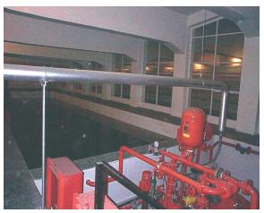 Instalación de bombas contraincendios