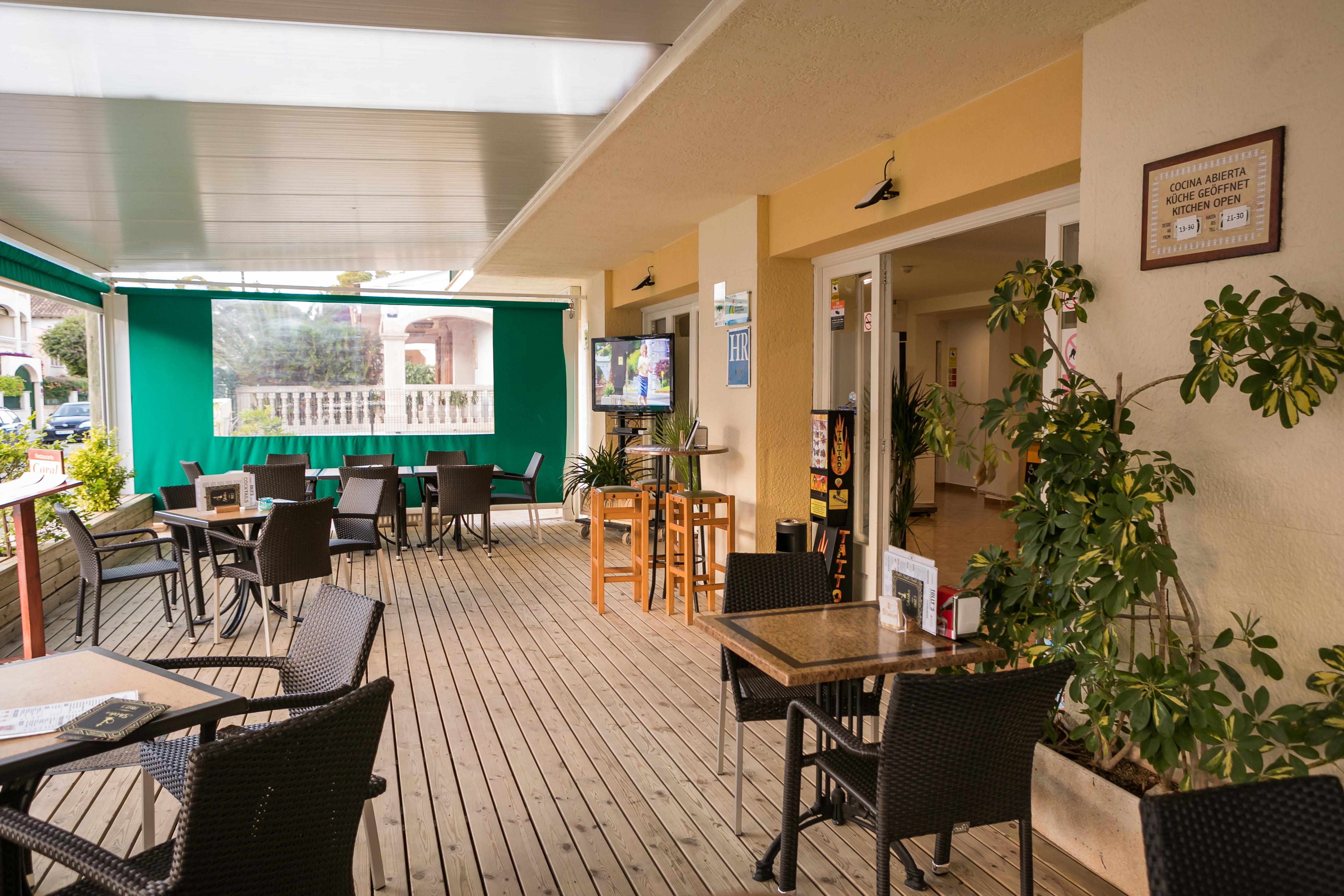 Hotel Coral Mallorca Terraza Restaurante