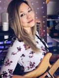 Tammy Byerly in her Twitch Streaming Studio