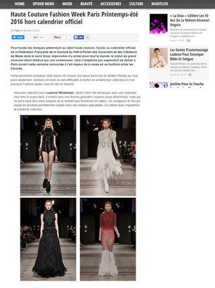 Maison Ludovic Winterstan Fashion week