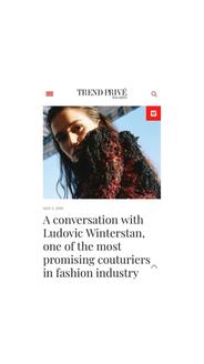 Ludovic Winterstan Trend privé