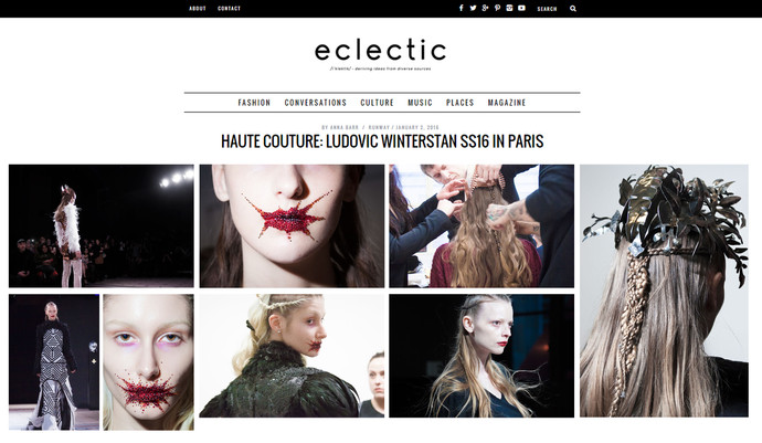 Maison Ludovic Winterstan Eclectic