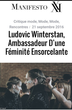 Maison Ludovic Winterstan Manifesto