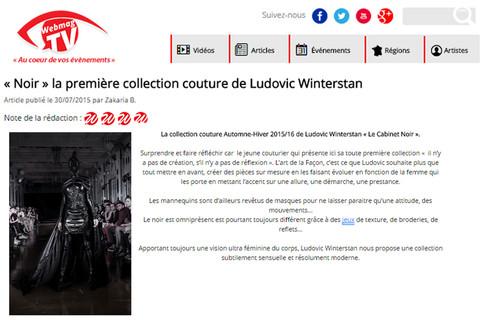 Maison Ludovic Winterstan Fashion week Fashion week