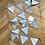 Thumbnail: Guirlande fanion rayée