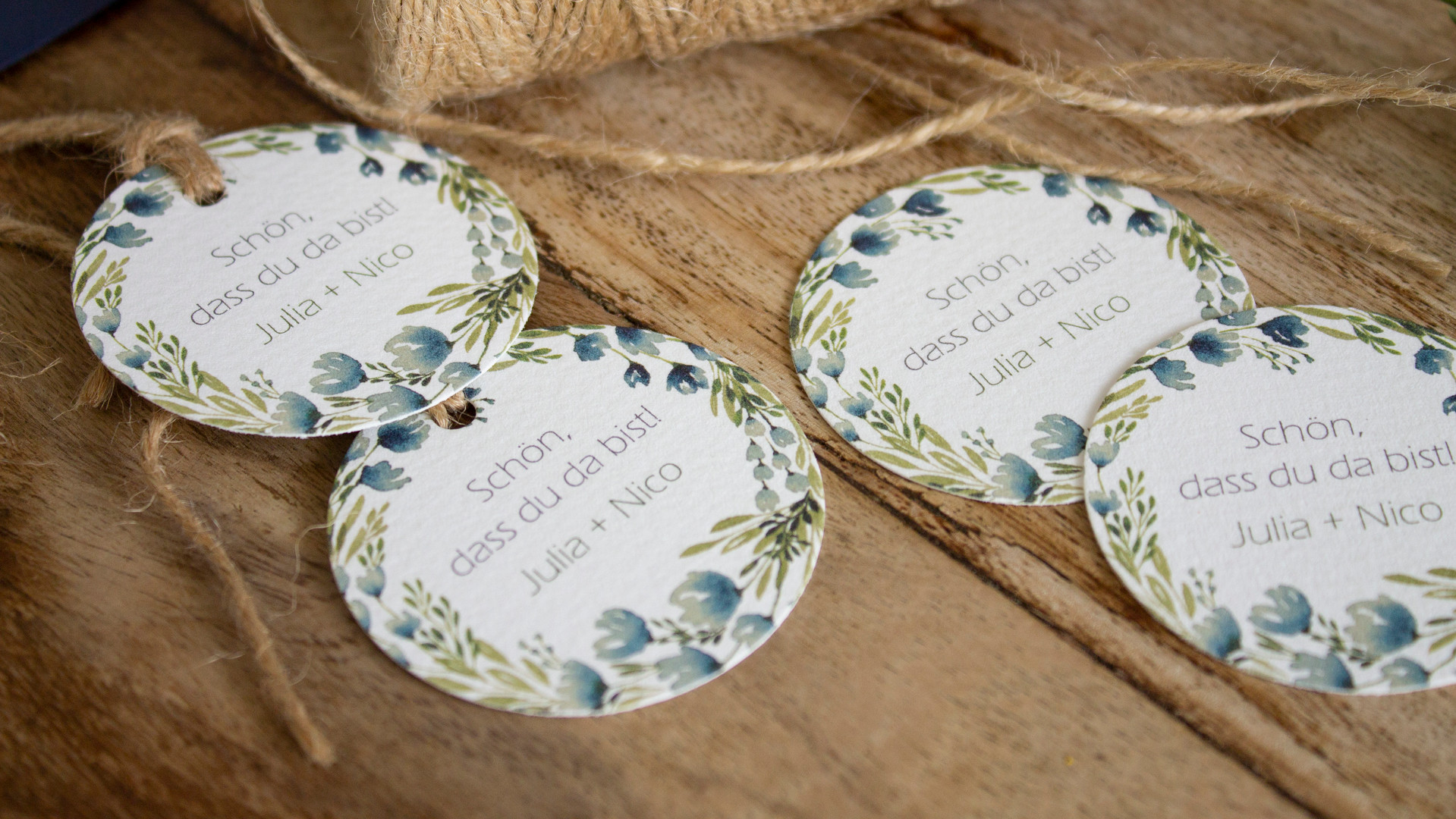 Blütenkranz olive