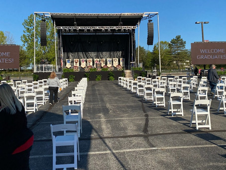 LED Boards Enhance Graduations Ceremonies