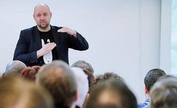 Foredragsholder Jonathan Løw
