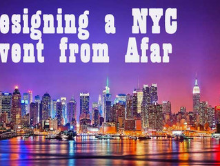 Designing a New York Event from Afar