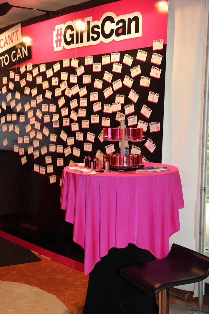 Cover Girl Sponsor Booth