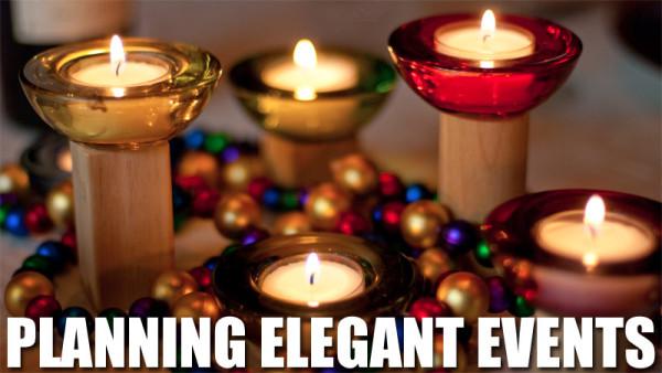 Planning Elegant Events