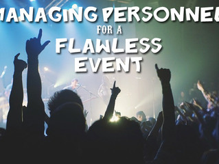 How to Manage Multiple Event Personnel