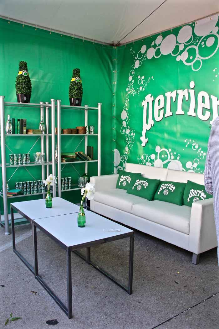 Perrier Sponsors Booth