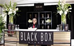 BlackBox Wines Booth