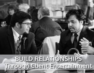 Relationship Building Through Client Entertainment