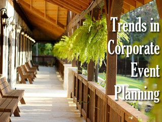 Trends in Corporate Event Planning
