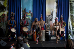 Cultural Dance of African People
