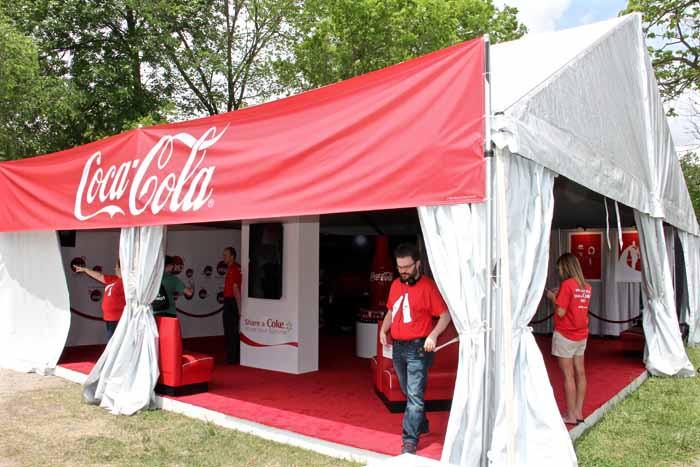 Coca Cola Sponsor Booth5