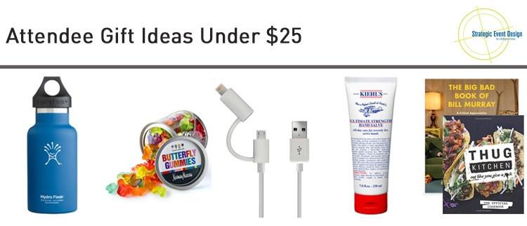Attendee Gift Ideas Under $25