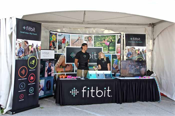 Fitbit Booth
