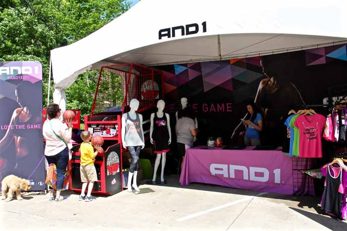 AND1 Sponsor Booth
