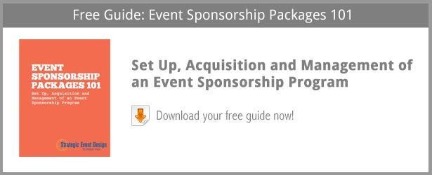Event Sponsorship Program