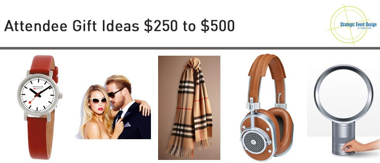Attendee Gift Ideas Under $50 to $100