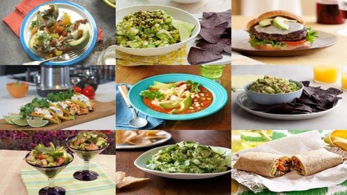 Avocado Recipe Collage