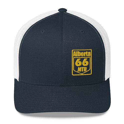 Trucker Cap Gold Logo