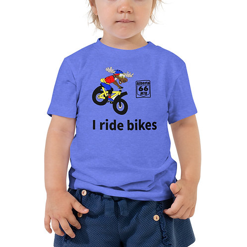 Moose Man Toddler Short Sleeve Tee