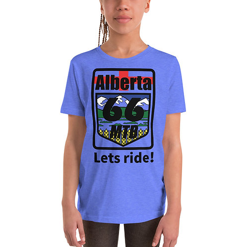 "Youth ""Lets Ride!"" Short Sleeve T-Shirt - Color Logo"