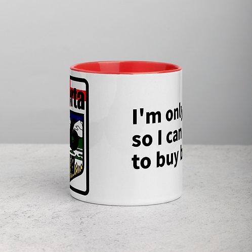 So I can buy bikes - Red Mug