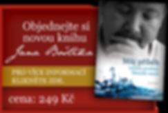 autorské vydání knihy s komentářem o prožitku klinické smrti