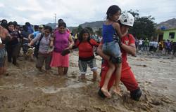 The city of Trujillo devastated