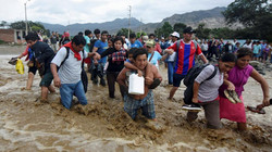 locals struggling to leave floods