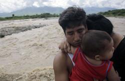 family devasted in flood