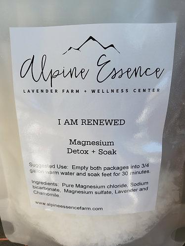 Magnesium Detox + Soak