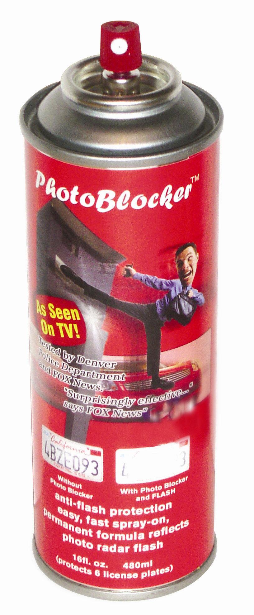 Photoblocker Spray Red Light Camera Spray | ultimatetint