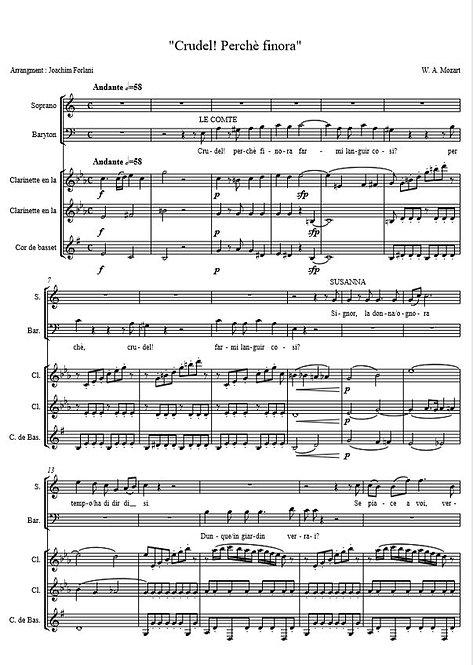 """Mozart W.A. - """"Crudel, perche finora"""" (Figaro)"""