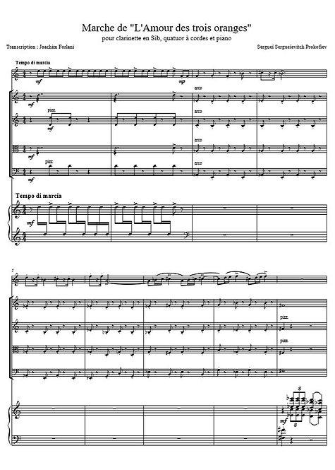 Prokofiev S. - Marche de L'amour des trois oranges_Cl2VlAltVlcPno