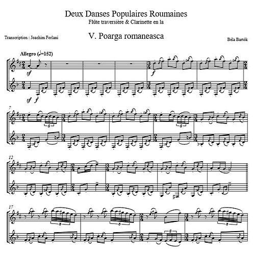 Bartok B. - Deux Danses Populaires Roumaines_FlCl