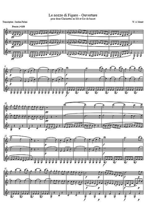 Mozart W.A. - Ouverture (Le Nozze di Figaro)_2ClCdb