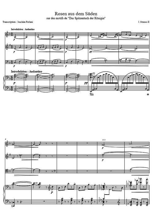 Strauss II J. - Rosen aus dem Süden_VlClVlcPno